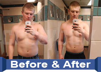 CrazyBulk Clenbutrol before and after