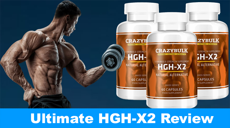 Hgh Crazybulk X2 Review And Results Legal Hormone Booster For 2020